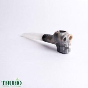 Grey Skull Pipe