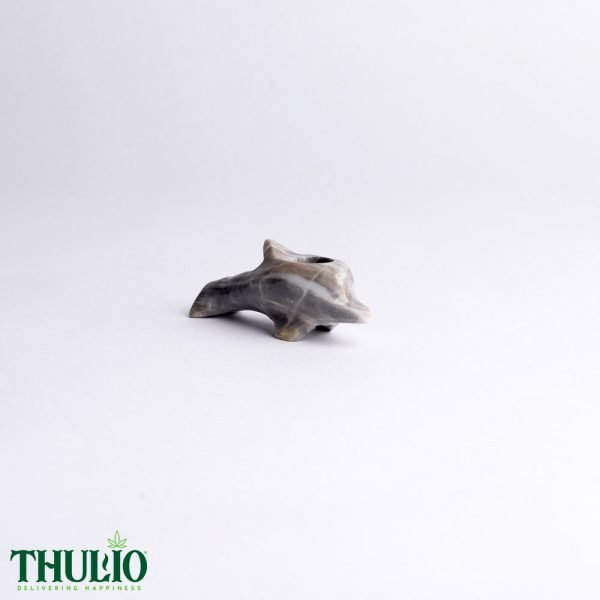 Grey Dolphin Pipe