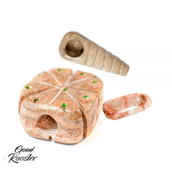 Pipa de piedra Ónix