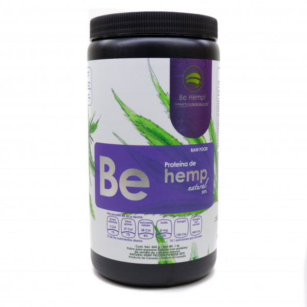 Proteína de Hemp natural al 50%
