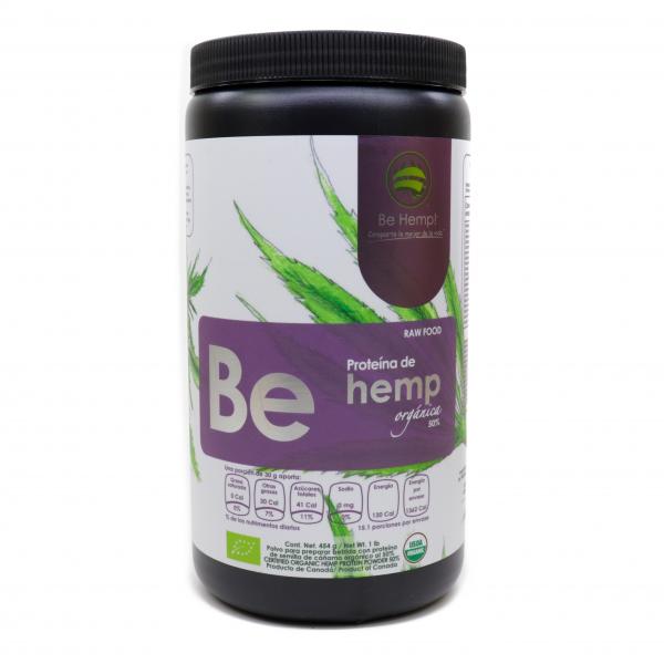 Proteína de Hemp orgánica al 50%