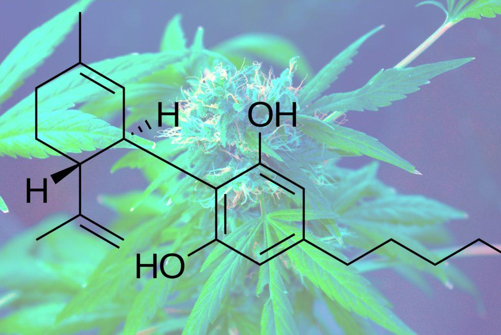 Molécula CBD