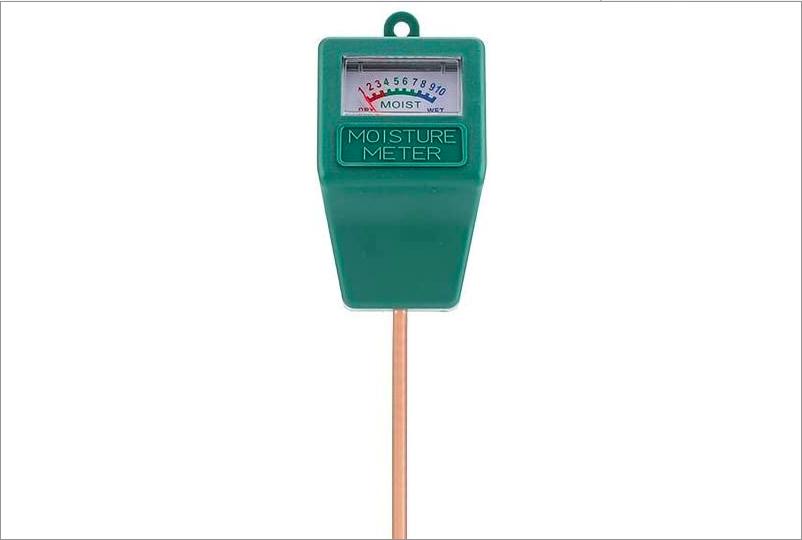 Medidor de humedad en suelo