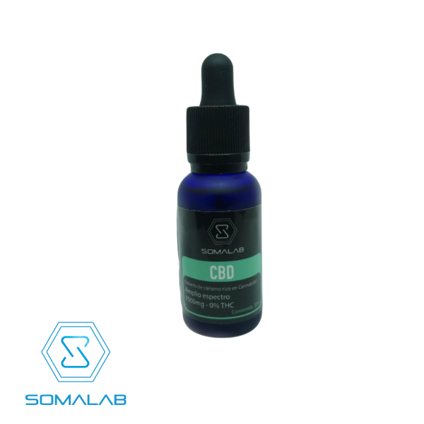 CBD Amplio Espectro 1500 mg 0% THC